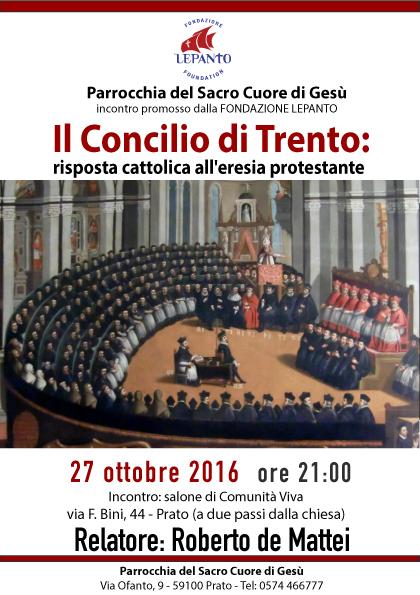 Conferenza a Prato del prof. Roberto de Mattei