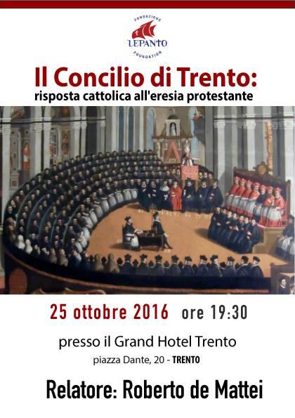 Conferenza a Trento del prof. Roberto de Mattei