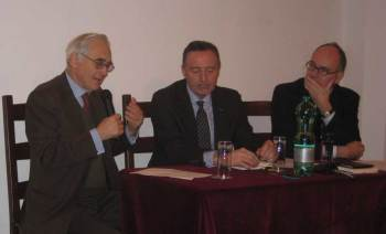 Incontro con Stéphane Buffetaut e John Laughland