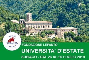 Università d'Estate – Subiaco 2018