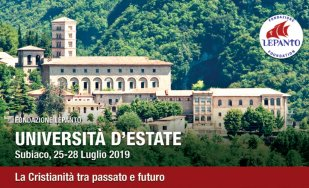 Università d'Estate – Subiaco 2019